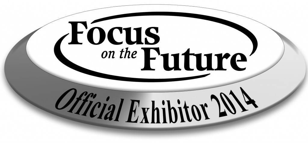 FOF 2013 Official Exhibitor disc bw